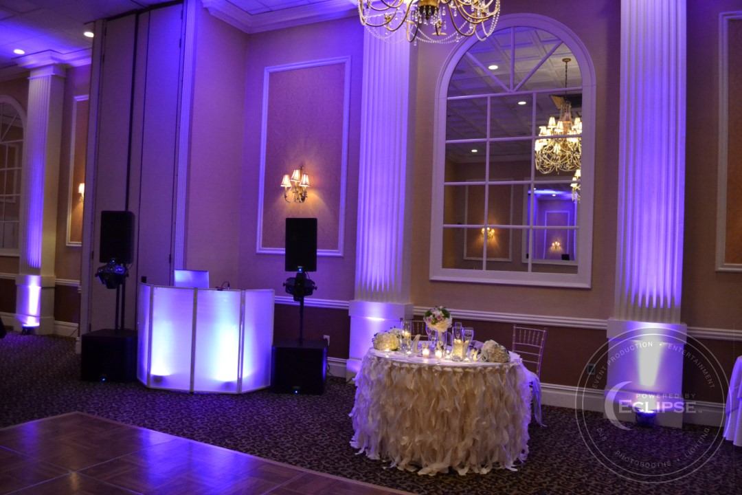 uplighting wedding lighting rentals philadelphia pa