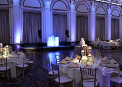 wedding at ballroom at the ben