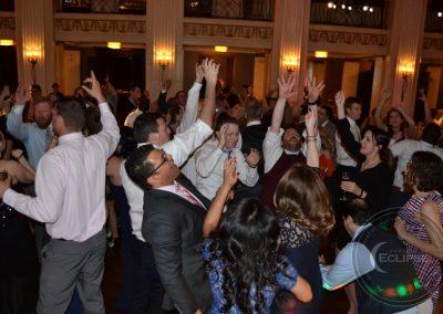 wedding at ballroom at the ben