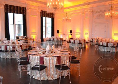 wedding at downtown club philadelphia