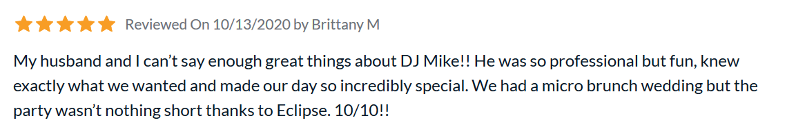 Dj Mikey Review 1